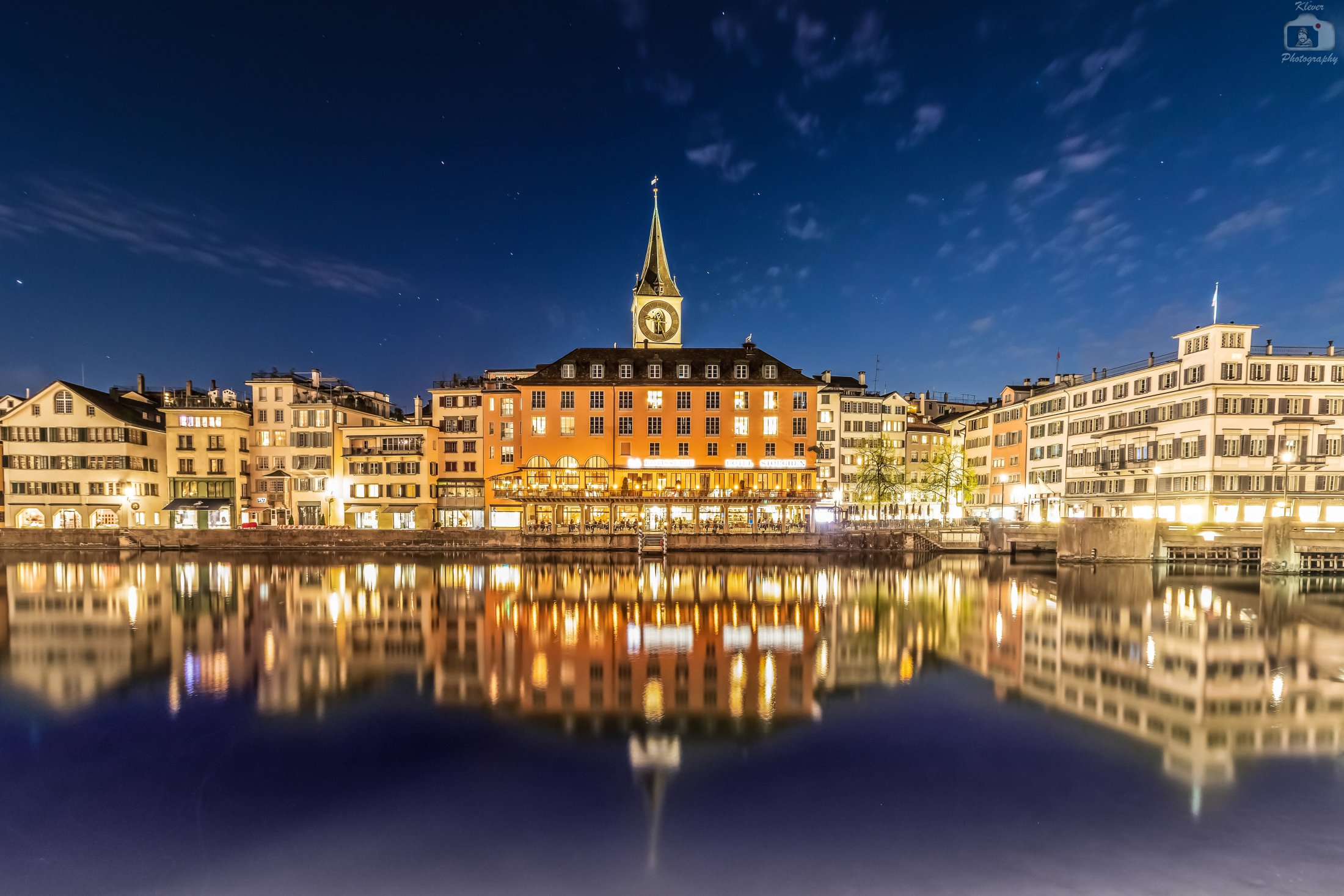 Zuerich at Night