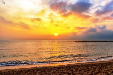 Barcelona Sonnenaufgang