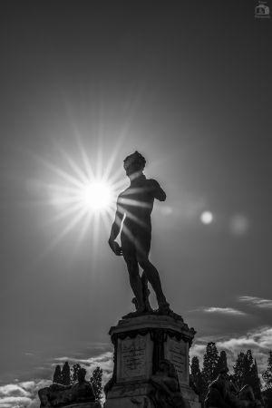 Florenz Davinci Statue