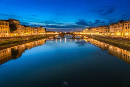 Florenz  Skyline Nacht
