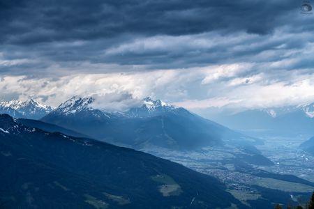 Innsbruck Mountain Skyline