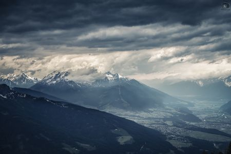 Innsbruck Mountain Skyline 2