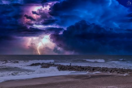 Nordsee Gewitter