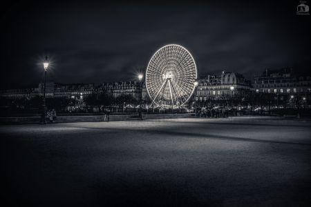 Paris Riesenrad Nacht V2