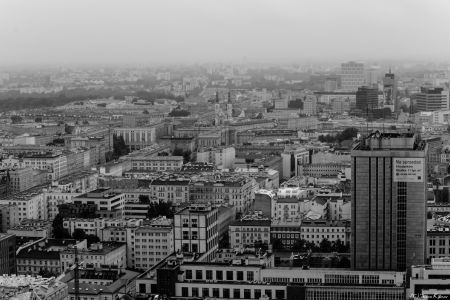 Warsaw - View From Cultural Palace